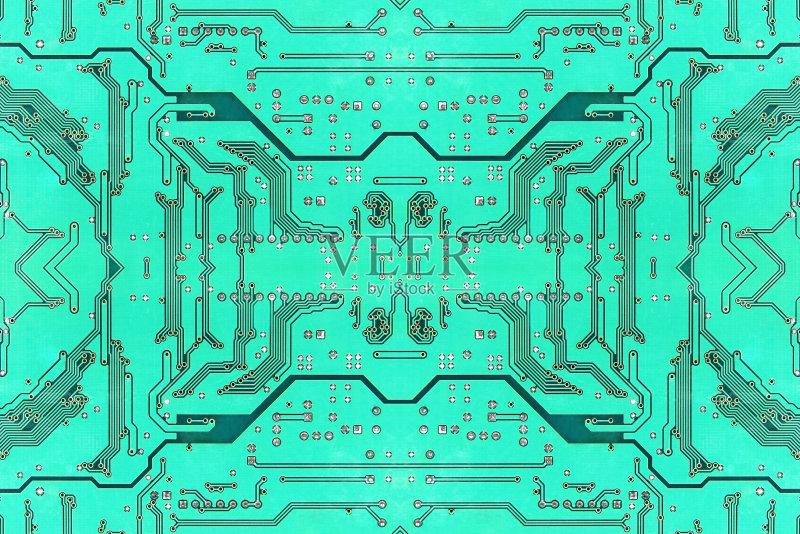 对称 背景 电路板 复杂性 绿色 有序 电脑芯片 无人 电子元件 盘子 计图片