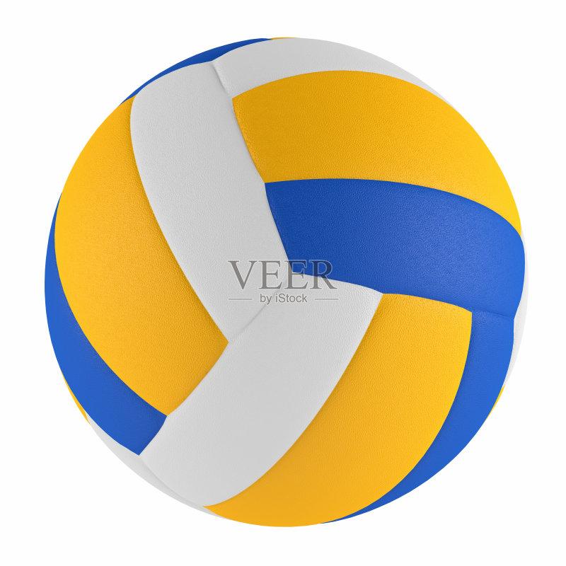 概念和主题 排球 形状 黄色 运动 体育团队 室内 装订夹 旅行 团队 曝
