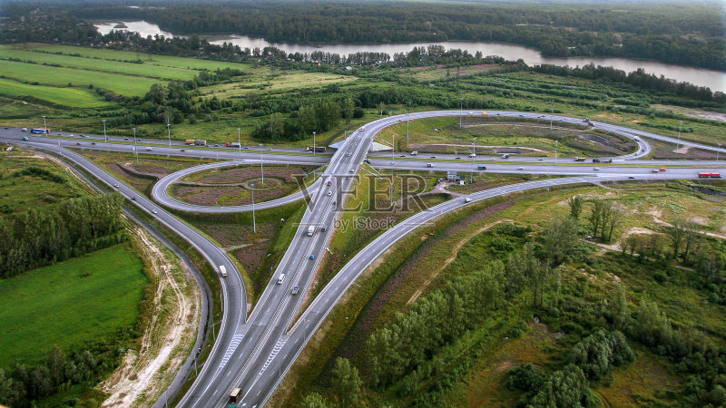 立交桥-德国高速公路 立交桥 公路 空中走廊 缠绕 环形路 路 岔路口 运输 高架