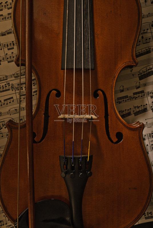 音乐 构图 古典乐 乐器 乐谱 小提琴 提琴家族