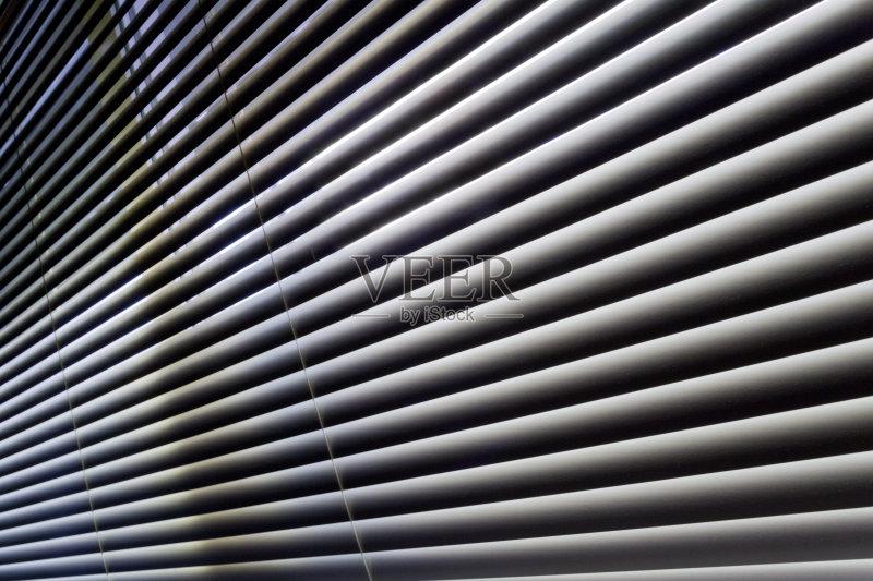 固定百叶窗 条纹 建筑