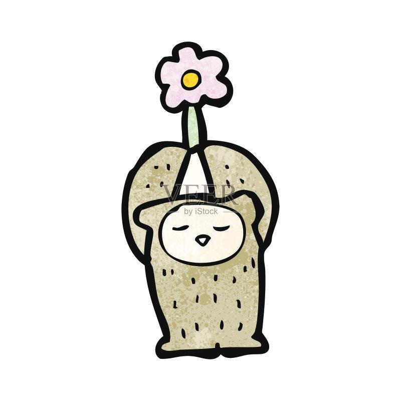 有趣-演讲 快乐 可爱的 绘画插图 乱画 矢量 动物图片