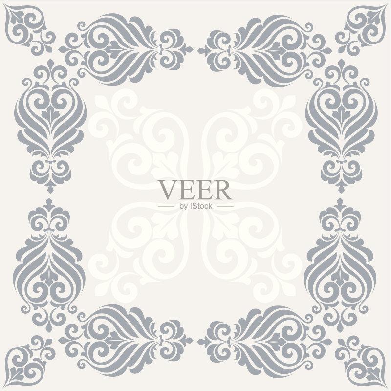 画插图 请柬 式样 装饰物 生日 白昼 装饰 华丽的 丝绸 婚礼 怀旧 祝贺
