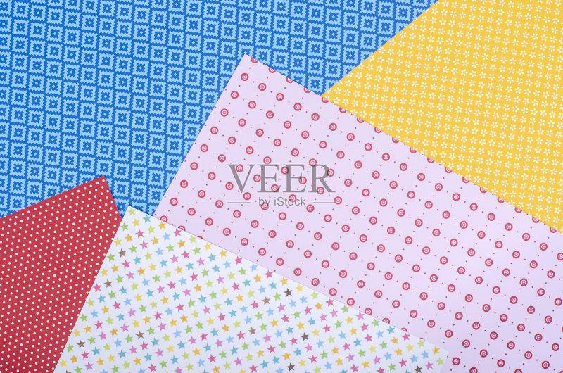 手工-设计 星形 多样 一个物体 个人随身用品 概念和主题 红色 式样 黄图片