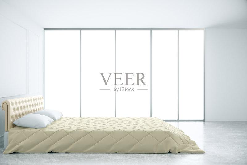 卧室 舒服 家具 公寓 白昼 三维图形 装饰 室内 艺术文化和娱乐 生活方