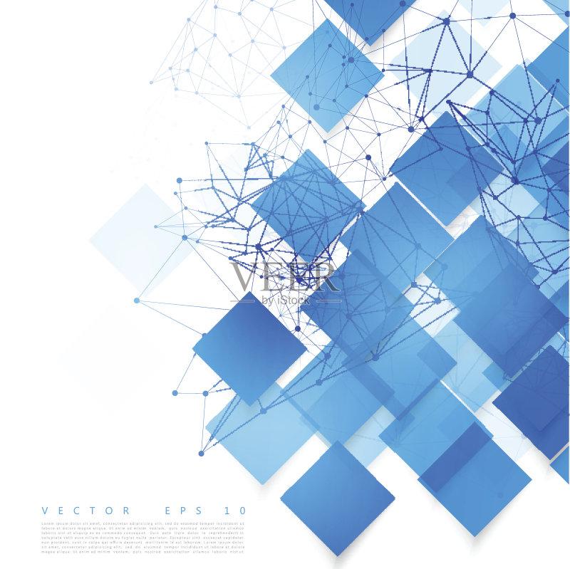 计划书 矢量 折纸工艺 互联网 背景 创造力图片