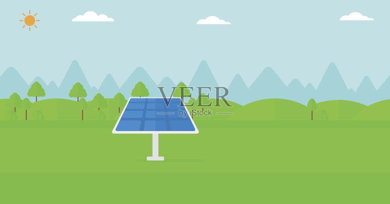 率 电 个性 环保人士 能源 做计划 绘画插图 照明设备 商业金融和工业