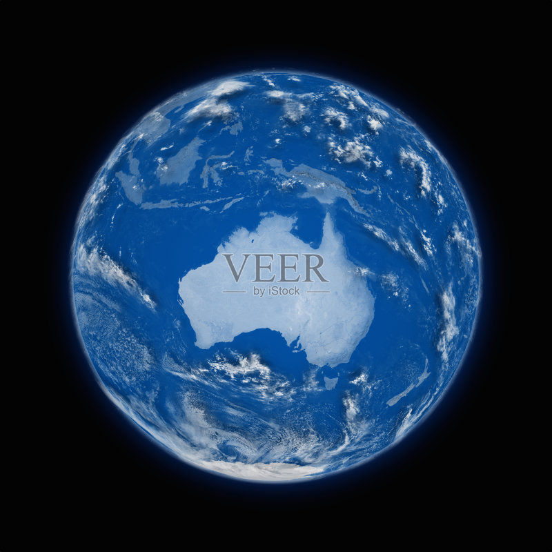 行星 黑色 地球 轨道运行 球体 地球形
