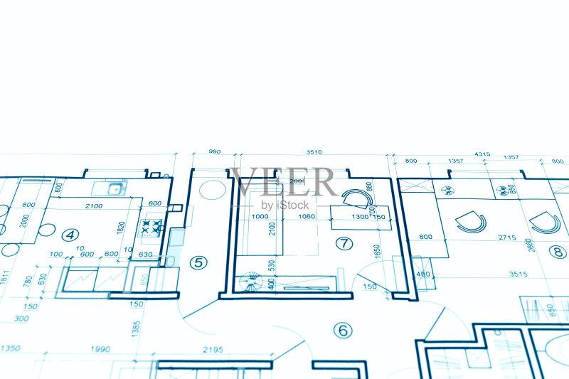 图纸-设计 蓝图 建筑结构 想法 住宅内部 文档 建筑业 普通住宅区 比例 图片