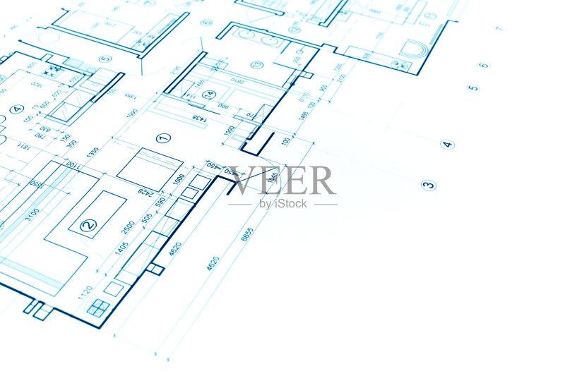 图纸-设计 蓝图 建筑结构 住宅内部 文档 建筑业 角度 普通住宅区 比例