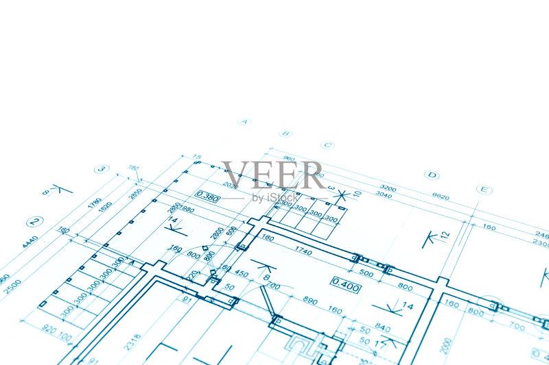 图纸-设计 蓝图 建筑结构 文档 建筑业 角度 普通住宅区 比例 线条 阴谋