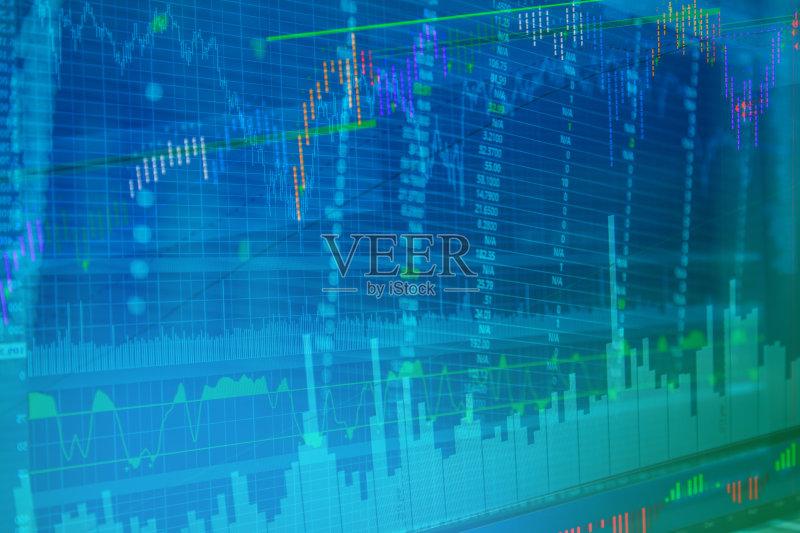 熊市 贩卖 数据 互联网 金融和经济 外币兑换 图表 背景图片