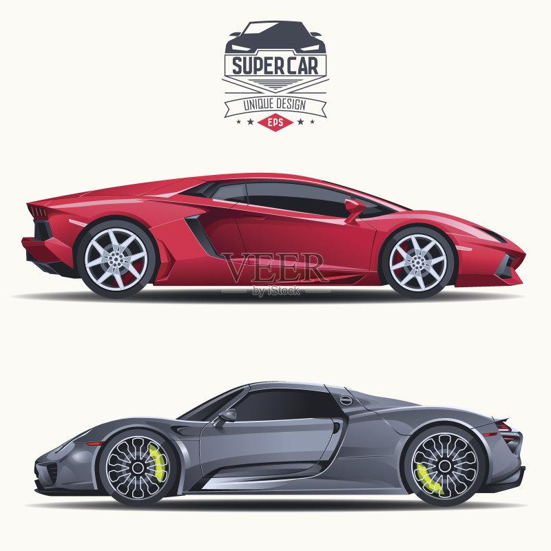 汽车- 计算机图标 机动车 证章 概念 计算机图形学 交通 驾车 设计 概念和主图片
