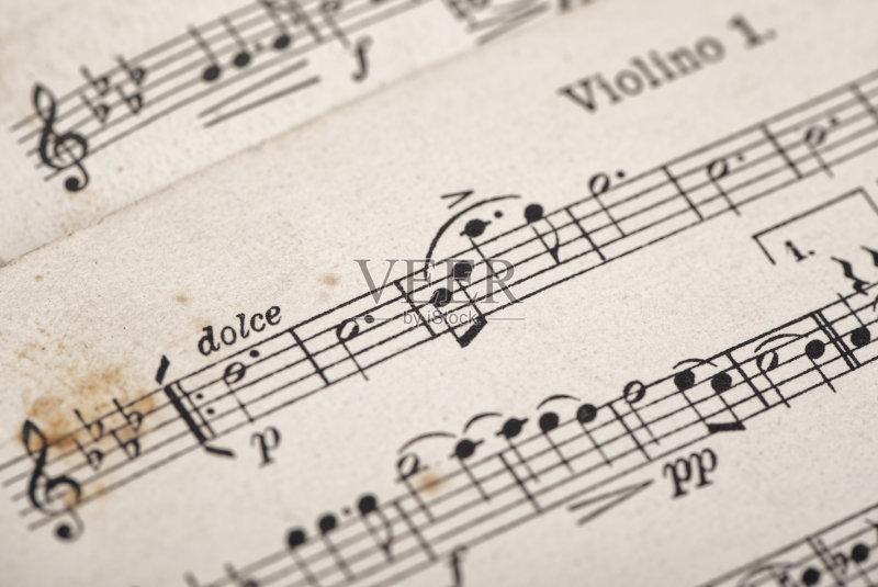 乐谱 古老的 艺术 无人 古典式 2015年 古典乐 构图 复古风格 书 小提