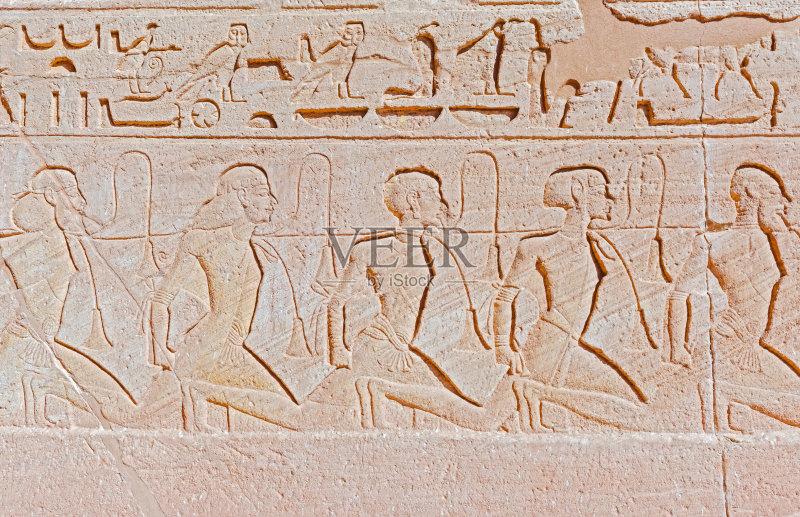 非洲 埃及 浮雕雕刻 世界遗产 无人 旅游目的地 中东 2015年 阿布辛比图片