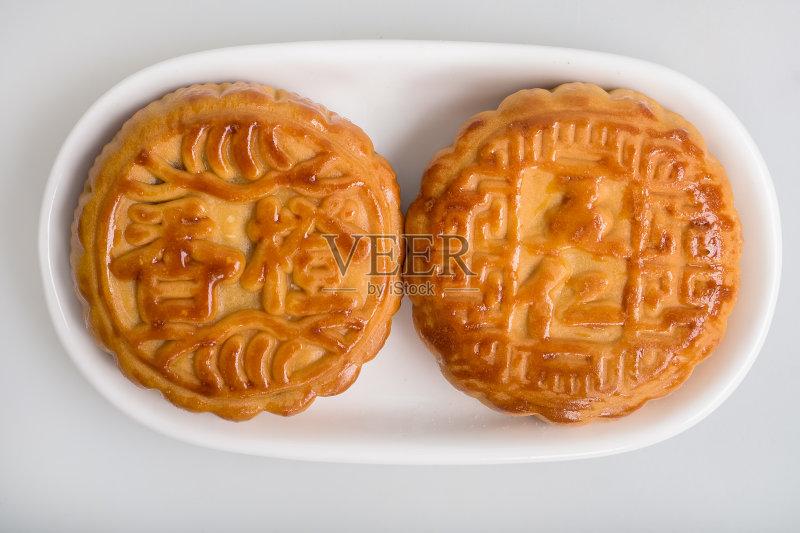食品 小吃 月饼 传统 影棚拍摄 白色背景 海关