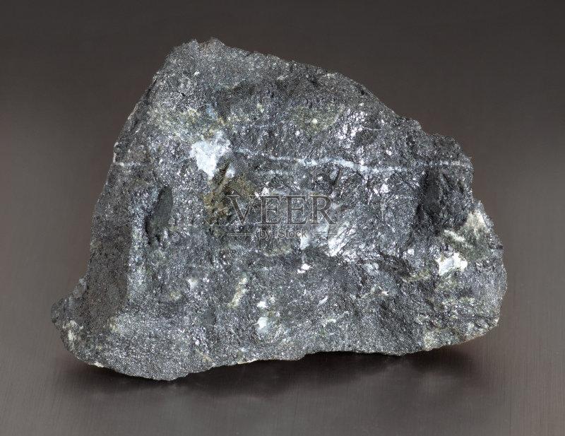 矿石-铁 粗糙的 矿物质 一个物体 材料 商业金融和工业 式样 灰色 自然