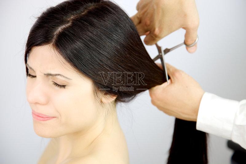 理发-2015年 女人 发型 波波头 悲哀 成年人