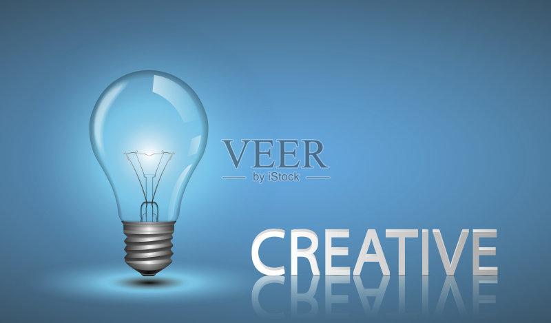 创新-想法 符号 技术 表现积极 能源 知识 商业金融和工业 电灯泡 美术