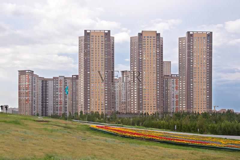 哈萨克斯坦城市风景