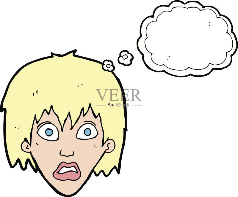乱画 奇异的 剪贴画 面部表情 人的脸部 成年人 仅成年人