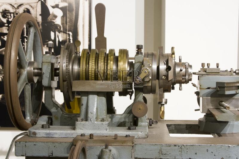 2015年 车床 机件 古董 工具