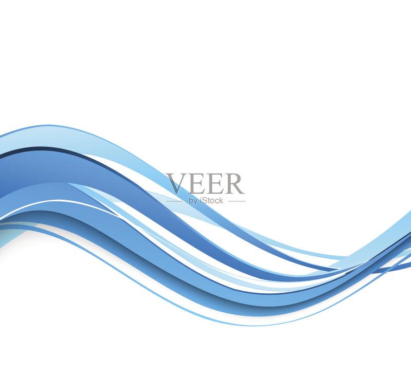 曲线-高雅 白色 网站模板 想法 自然神力 新创企业 背景幕 弯曲 部分 相