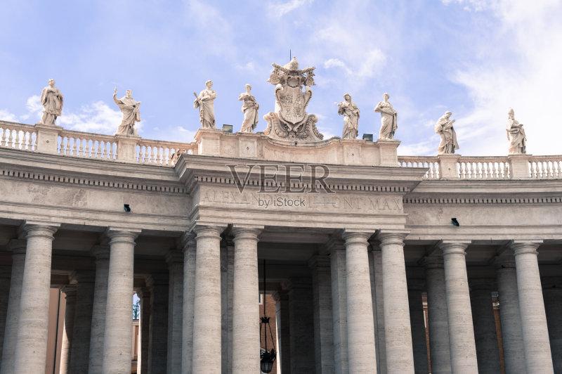 15年 日光 广场 过去 旅行 柱廊 国际著名景点 圣彼得广场 梵蒂冈城