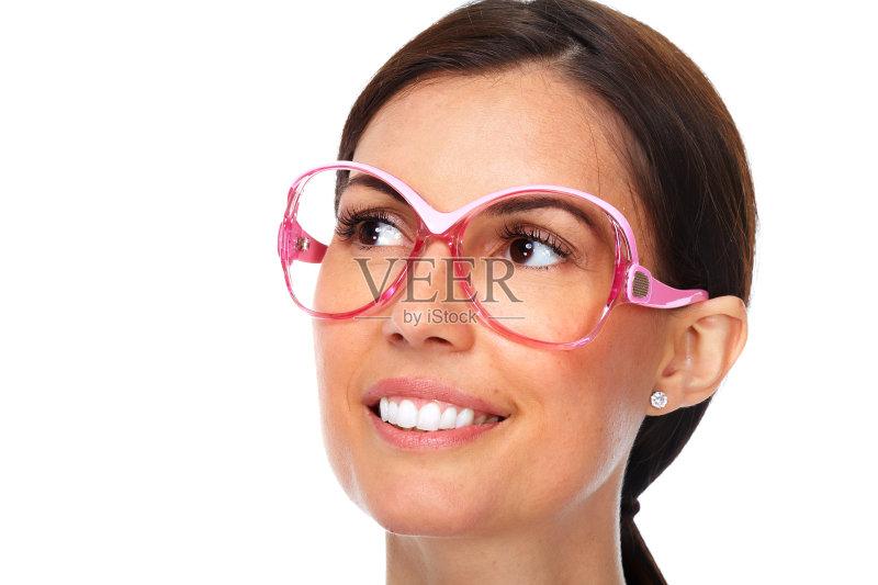 和工业 眼镜 近视 商务 2015年 视力 验光师 人体 人的脸部 成年人 微
