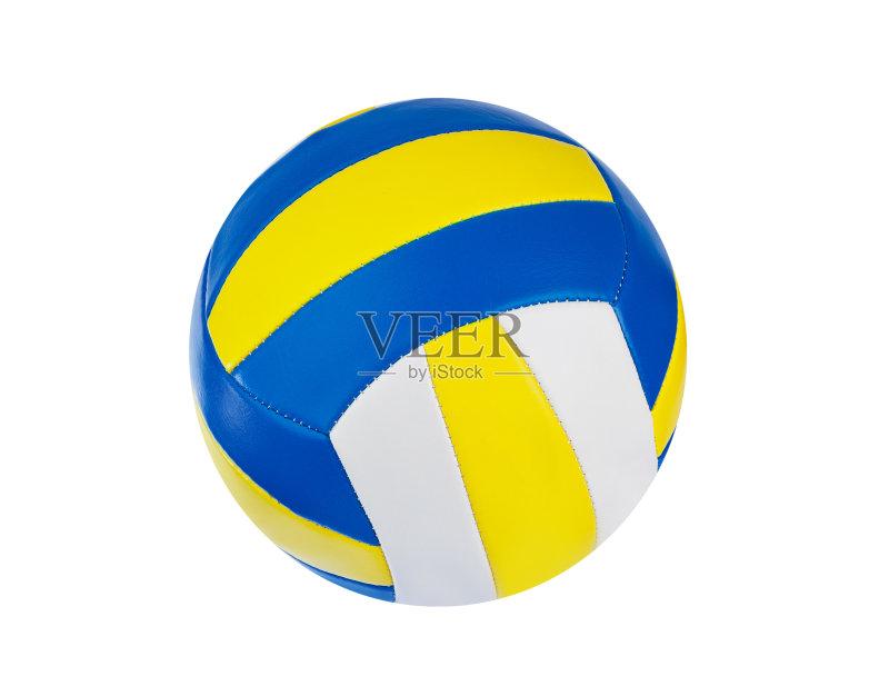 活动 式样 排球 设备用品 蓝色 乐趣 黄色 运动 杯 球体 圆形 海滩 户外