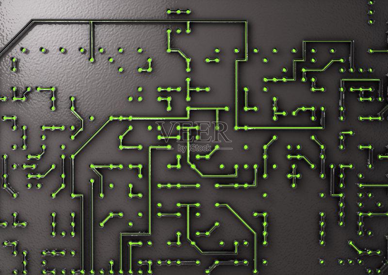 背景 现代 电路板 能源 复杂性 绿色 暗色 计算机设备 有序 无人 2015图片