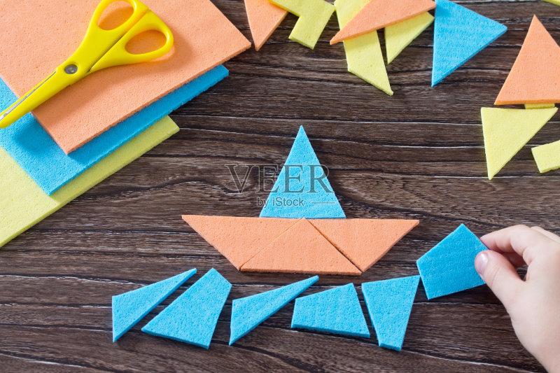 手工-想法 纸牌 概念和主题 建筑业 式样 桌子 决定 儿童 数学 运动 教育 图片