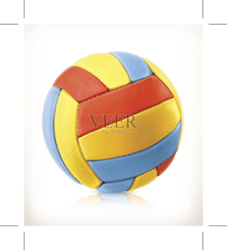 活动 放松 排球 设备用品 夏天 乐趣 蓝色 设计元素 成功 计算机图标