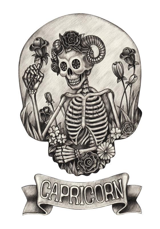 铅笔画 涂料 设计 超现实主义的 想法 叶子 纹身 风象星座 死的 音乐节