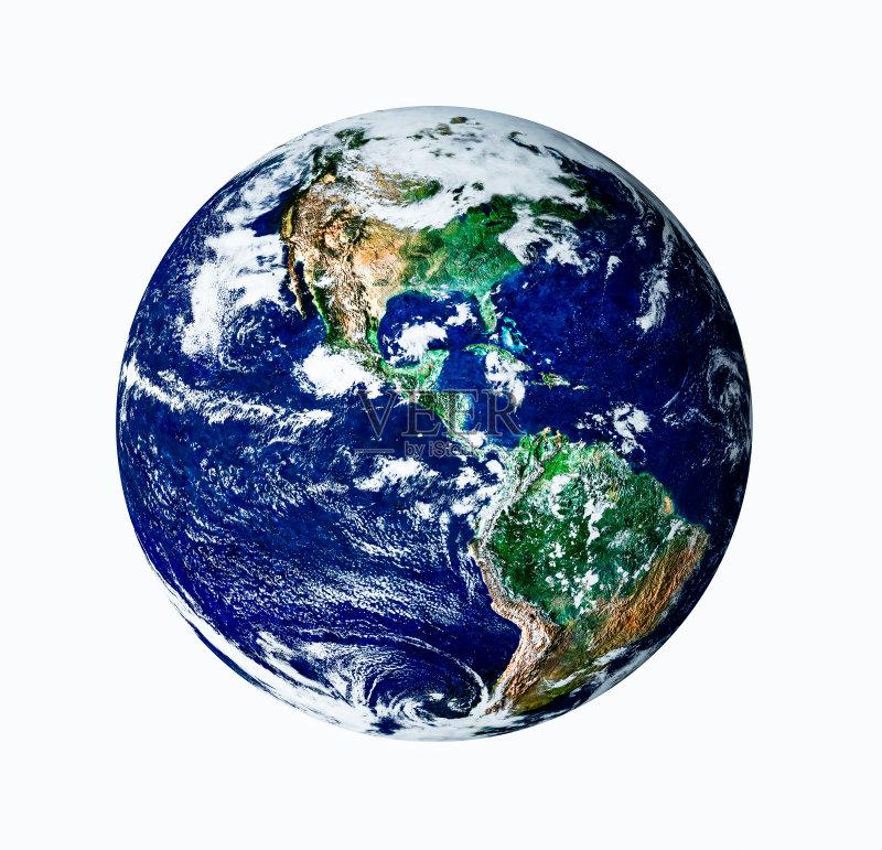 云景 美国 地球形 绿色 绘画插图 地球 默里迪恩 赤道 巴西利亚 巴西的