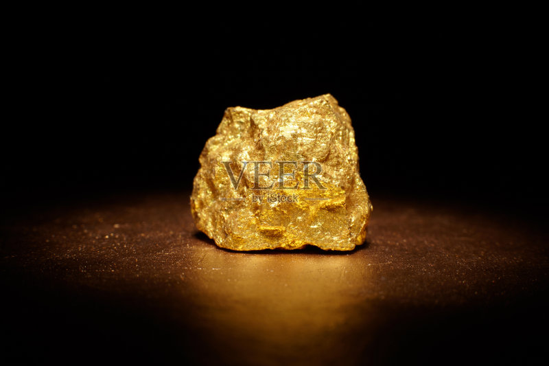 矿石-矿物质 黄金 一个物体 收集 明亮 金矿 银行业 金融 股市和交易所