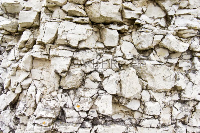采石场 巨石 块状 自然 石灰石 砖墙 纹理 采矿业 石头 白垩 背景 混凝