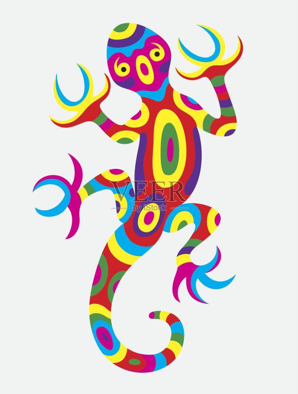 计算机制图 剪贴画 动物图案 个性 背景 幽默 动物斑纹 绘画插图 美术