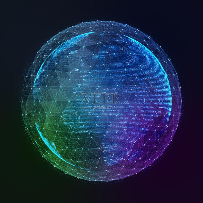 互联网 球体 地球 圆形 全球通讯 联系 非都市风光 地球形 条纹