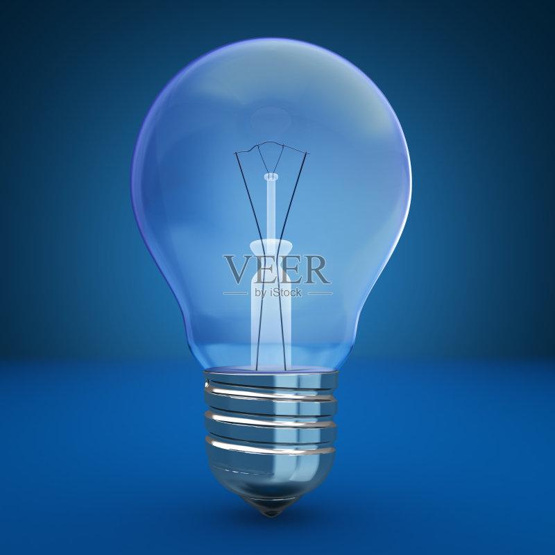电源 无人 创新 科学 技术 蓝色背景 灯 电 背景
