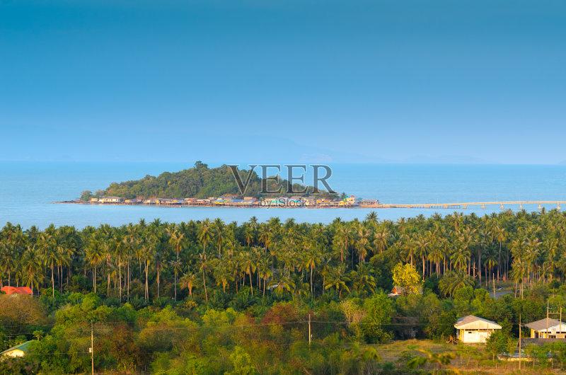 旅行 地形 背景 海滩 户外 美 天气 公园 放松 看风景 蓝色 万里无云 无图片