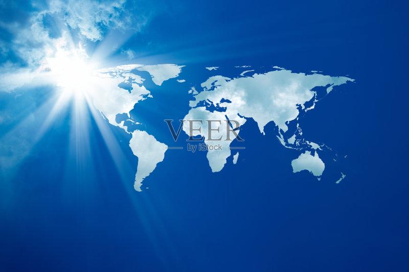 环境 梦想 光 天空 自然 渴望 发光 白昼 世界地图 神秘 地图 新生活 生活图片