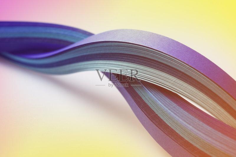 曲线-无人 波形 蓝色 线条