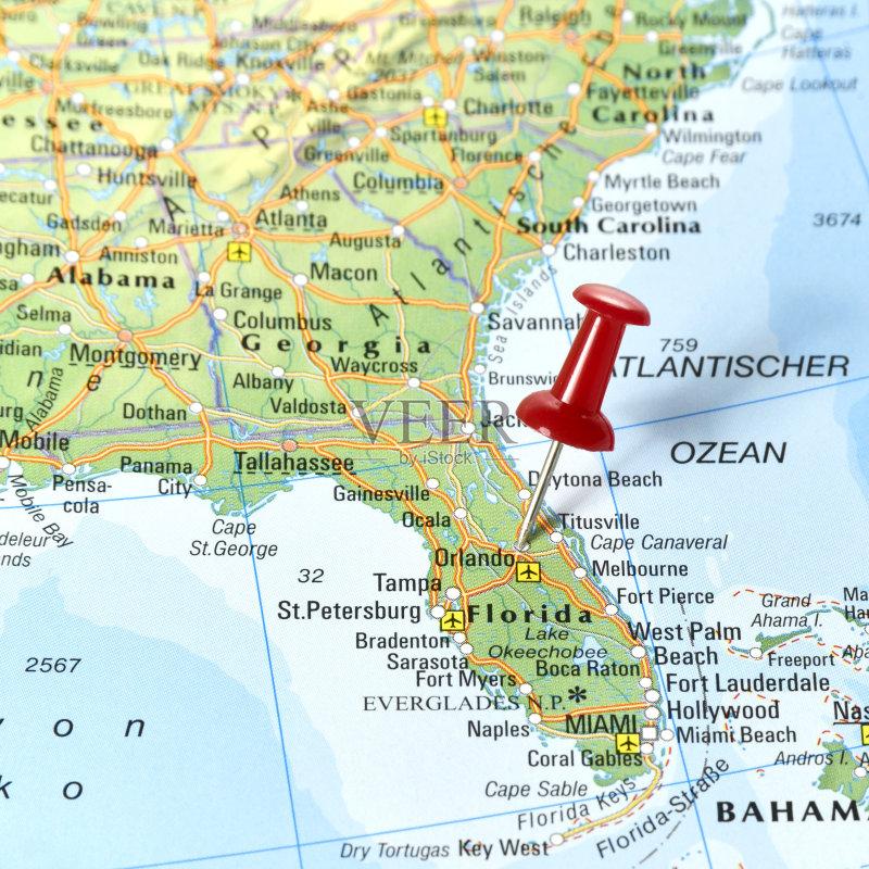 端地形 文化 路线图 红色 墨西哥湾沿岸国家 地图学 珠针 佛罗里达 世