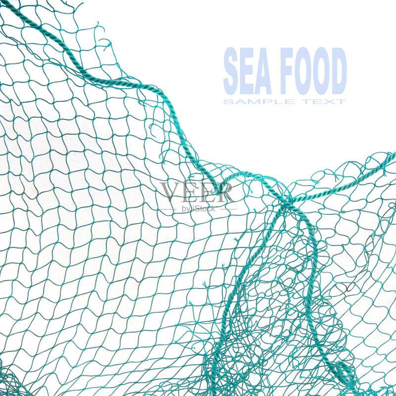 商业金融和工业 绳子 设备用品 白色背景 无人 工业 2015年 农业 渔网