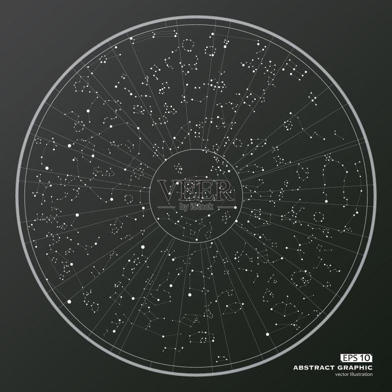 球体 背景 星图 计算机图形学