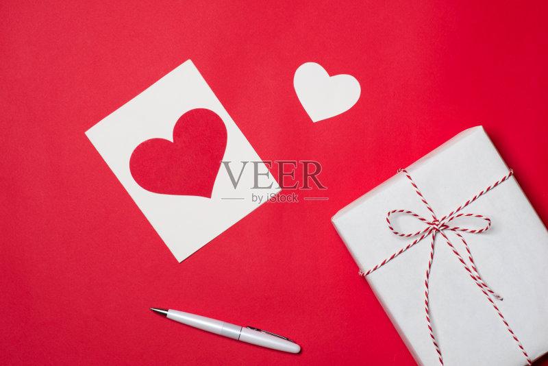 手工-母亲节 乡村风格 心型 红色 周年纪念 情书 情感 生日礼物 阶调图图片
