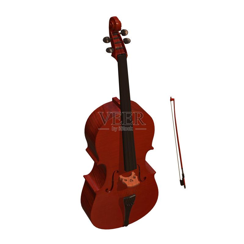 乐器-文化 绘画插图 腹腔 大提琴 指板 交响乐团 搭便车 植物茎 管弦乐