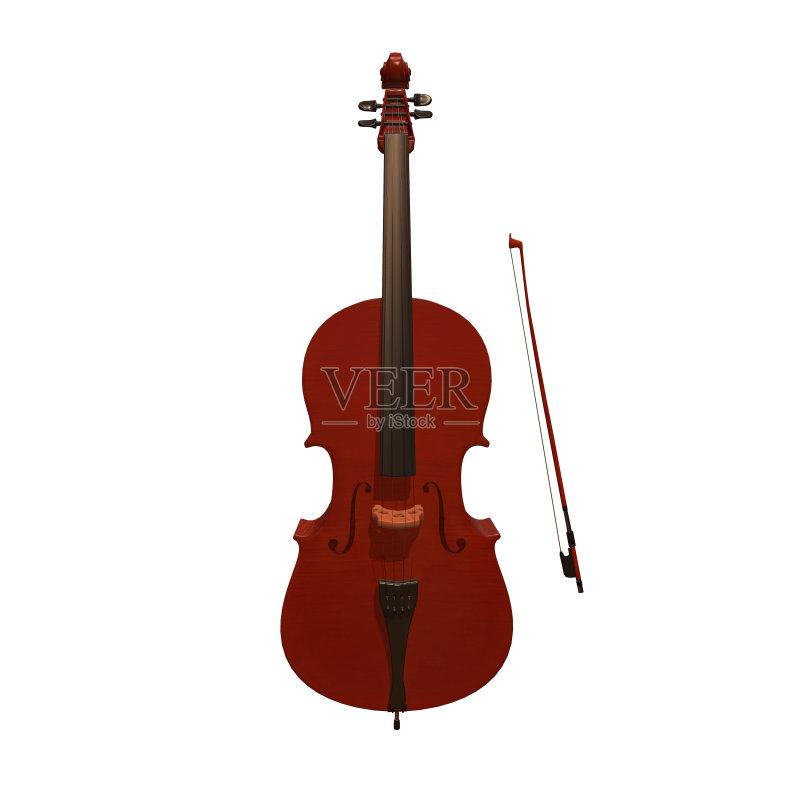 乐器-文化 绘画插图 腹腔 大提琴 交响乐团 指板 管弦乐队 搭便车 植物