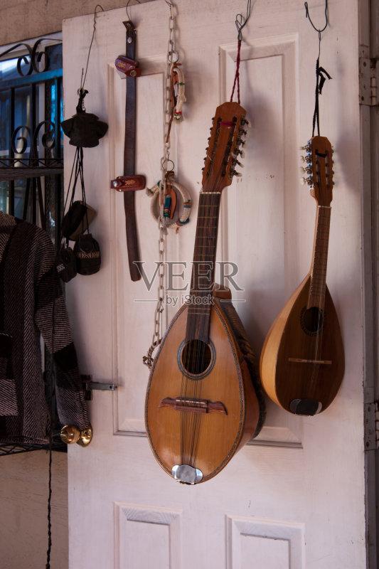 文化 白色 弦乐器 乐器弦 门 墨西哥 成品 无人 古典式 音乐 古典乐 艺